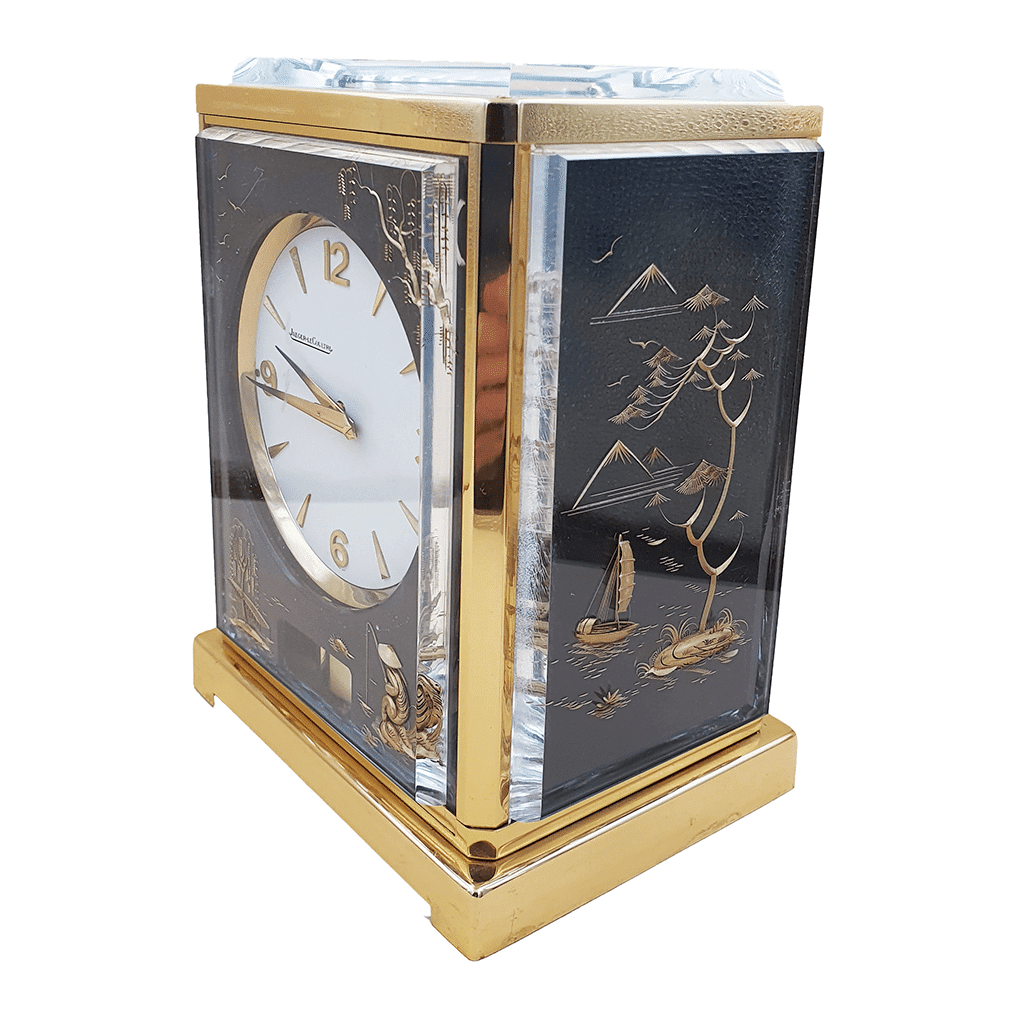Atmos clock Jaeger e Coultre Chinese | Reloj atmos jaeger le coultre chinesco
